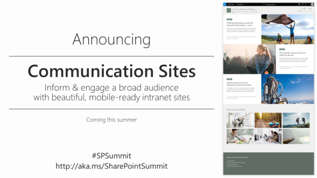 CommunicationSites